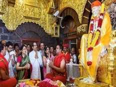 saibaba temple shut down politics behind udhav thakre statement