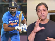 बेंगलुरु में रोहित ने ऑस्ट्रेलियाई गेंदबाजों का भर्ता निकाल दिया: शोएब अख्तर