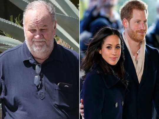 Thomas and Meghan Markle