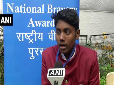 केरल के आदित्य को भी वीरता पुरस्कार के लिए चुना गया है