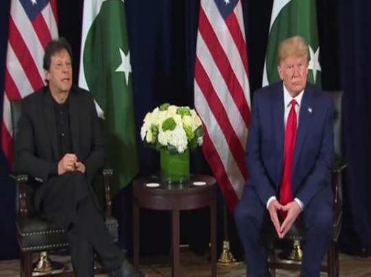 imran khan with donald trump
