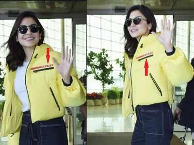 अनुष्का शर्मा का लाखों का जैकेट