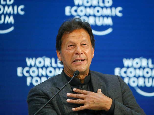 विश्व आर्थिक सम्मेलन में पाकिस्तान के पीएम इमरान खान