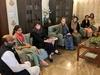 सोनिया गांधी, प्रियंका गांधी की मौजूदगी कांग्रेसियों को सिखाया आरएसएस से 'संघर्ष' का तरीका