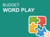 बजट 2020: शब्दों का खेल