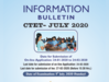 CTET 2020: सीटेट परीक्षा का इनफोर्मेशन बुलेटिन जारी, जानें पूरा शेड्यूल