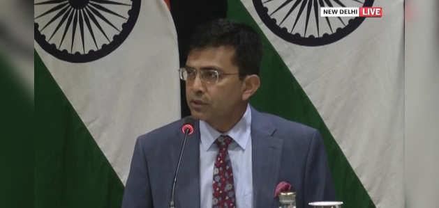 कश्मीर पर कोई तीसरा पक्ष मंजूर नहीं, विदेश मंत्रालय का बयान