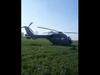 चार्टर्ड विमान को बचाने आए एयरफोर्स के पायलट को भीड़ के कारण खेत में उतारना पड़ा चॉपर