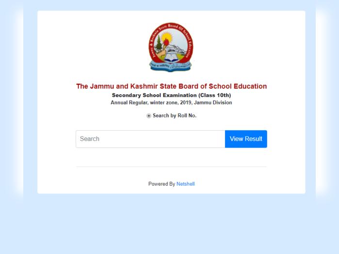 jkbose results 2020 jammu division