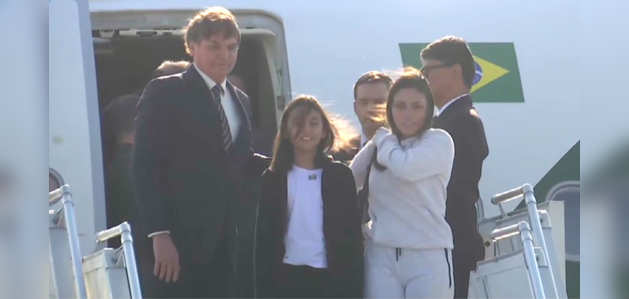 दिल्ली पहुंचे ब्राजील के राष्ट्रपति बोलसोनारो, गणतंत्र दिवस पर होंगे चीफ गेस्ट