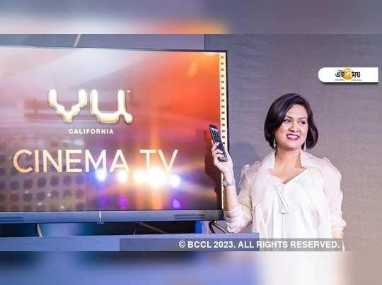 ভারতীয় বাজারে Vu Cinemas-এর টিভি।