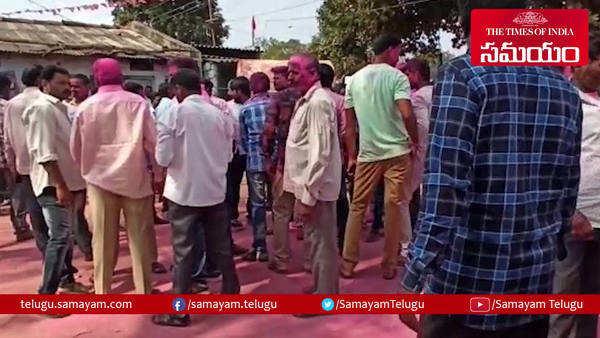 telangana municipal election results celebrations at telangana bhavan