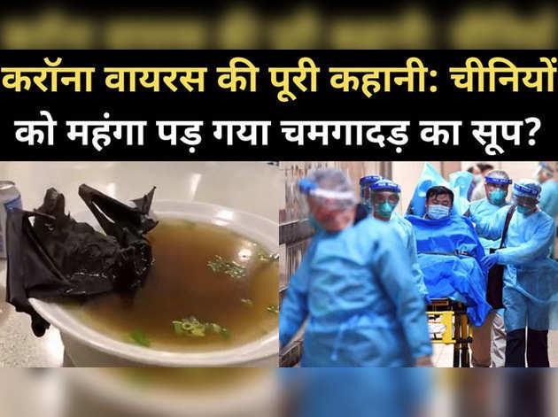 करॉना वायरस की पूरी कहानी: चीनियों को महंगा पड़ गया चमगादड़ का सूप?