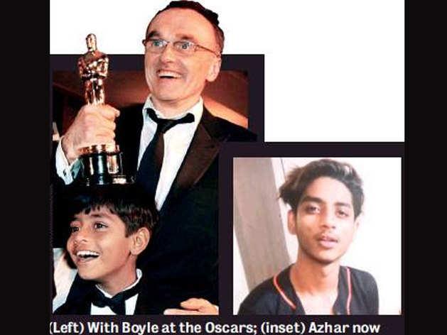 बचपन में डैनी बॉयल के साथ अजहरुद्दीन, अब ऐसे दिखते हैं अजहर (इनसेट में)
