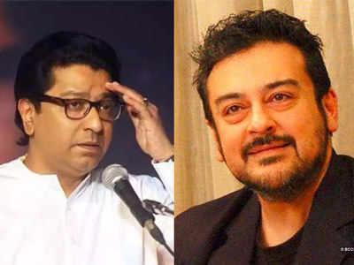 राज ठाकरे और अदनान सामी (फाइल फोटो)