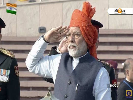 PM Narendra Modi pays homage to fallen soldiers at newly-built National War Memorial for first time