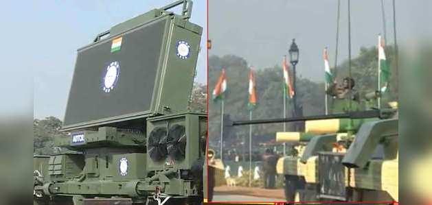 गणतंत्र दिवस 2020: राजपथ पर देश की सैन्य शक्ति का प्रदर्शन