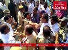 చొక్కాలు పట్టుకున్న కార్యకర్తలు.. రాజగోపాల్ రెడ్డి అరెస్టు