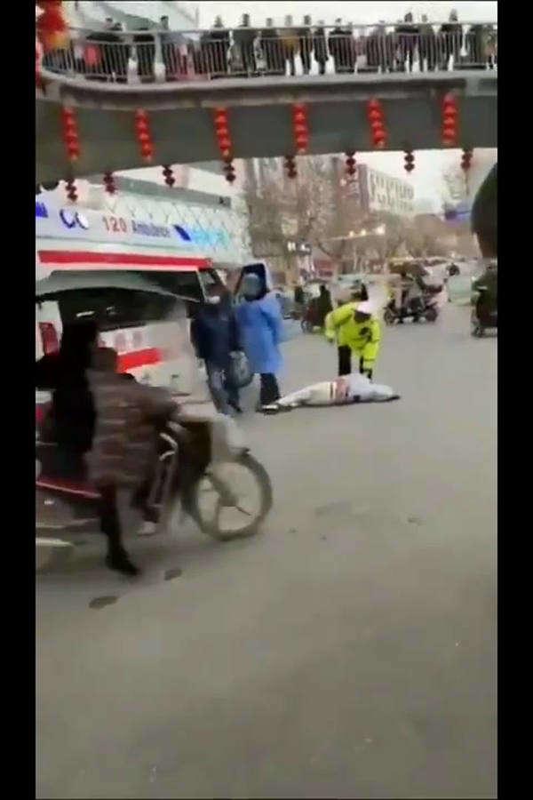 corona virus shocking footage from china
