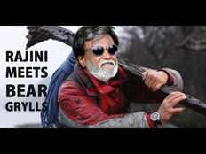 rajini will participate in man vs wild with bear grylls