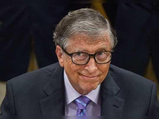 New Delhi: Bill & Melinda Gates Foundation Co-chairman Bill Gates at the release...