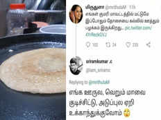 dosa tweet from kanyakumari girl triggers the netizens see the fun replies