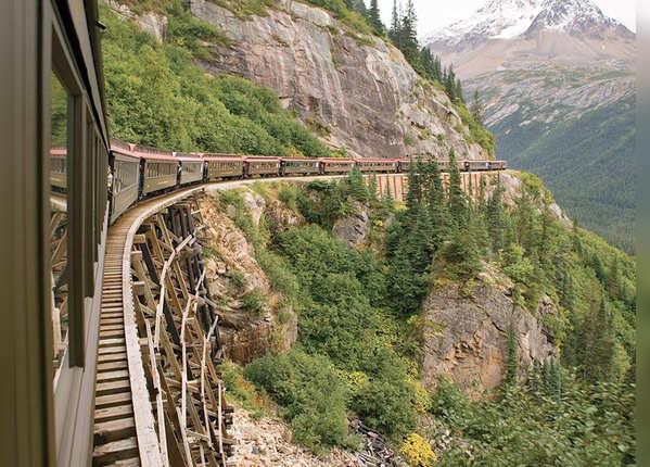 वाइट पास और यूकोन रेलमार्ग, अलास्का
