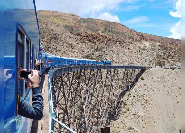 ट्रेन अ लास न्यूब्स, अर्जेंटीना