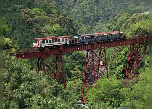 मिनामी आसो रेलमार्ग, जापान