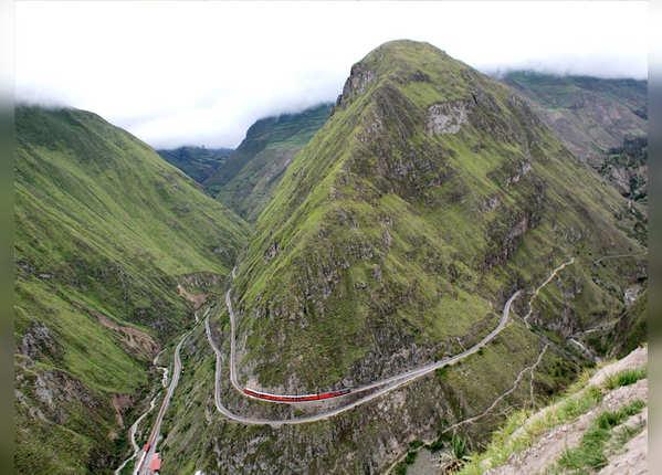 डेविल्स नोज रेलमार्ग, इक्वाडोर
