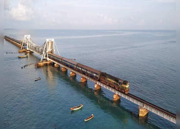 चेन्नै-रामेश्वरम रेलमार्ग, भारत
