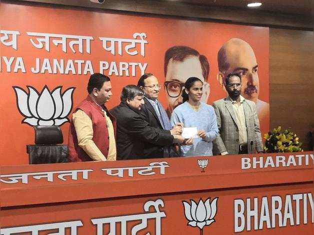 Saina Nehwal joins BJP, says PM Modi inspires her