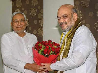 नीतीश कुमार और अमित शाह (फाइल फोटो)