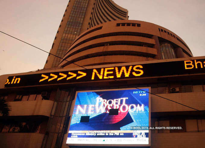 Sensex hits all-time high on first trading day of FY20