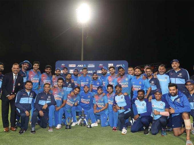 भारत ने जीता माउंट माउंगानुई में सीरीज का आखिरी मैच