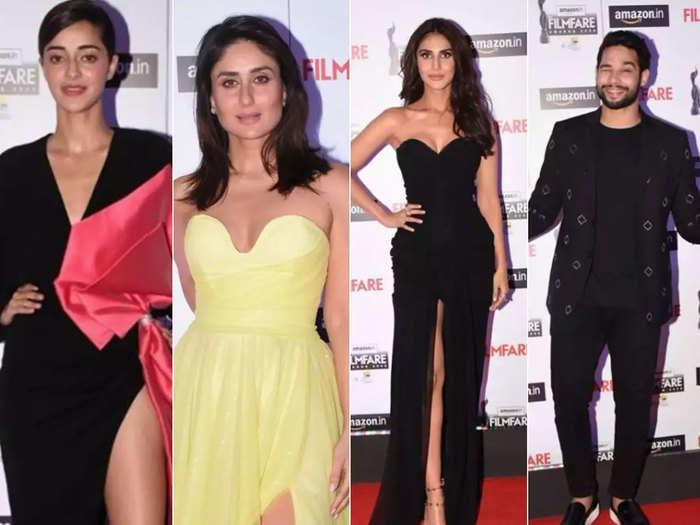 bollywood stars at 65th amazon filmfate awards curtain raiser 2020 red carpet