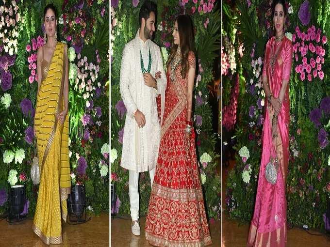 अरमान जैन की शादी में सितारों का फैशनेबल अंदाज