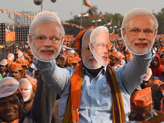 मोदी की रैली से बदलेगा दिल्ली का गणित?