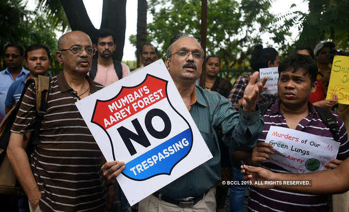 Protest held to save Mumbai's Aarey forest