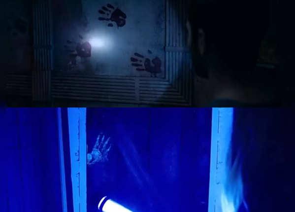 'भूत' का सीन है 'लाइट्स आउट' जैसा