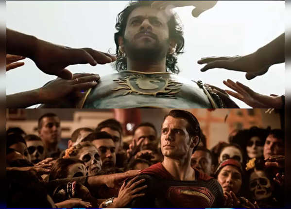 'बाहुबली 2' के सीन कॉपी किए गए 'Batman v Superman' से