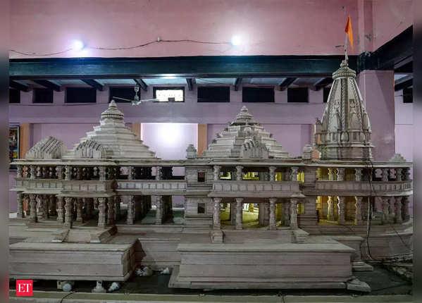 राम मंदिर ट्रस्ट पर सियासी बयानबाजी