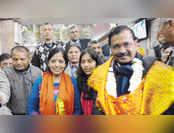 दिल्ली चुनाव: पोल ऑफ़ पोल्स में आम आदमी पार्टी को 51 सीटों का अनुमान, भाजपा को 18 सीटें