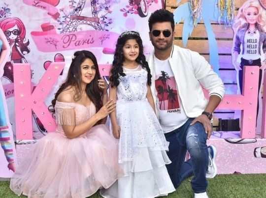 sharad kelkar celebrate his daughter sixth birthday by giving grand party