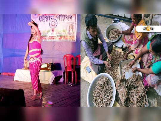 <p>আনন্দ, মজা আর খাওয়াদাওয়া... (ছবি: তন্ময় সেনগুপ্ত)<br></p>