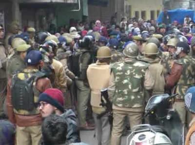 कानपुर में सीएए के खिलाफ प्रदर्शन