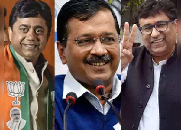 नई दिल्ली सीट (अरविंद केजरीवाल vs सुनील यादव (बीजेपी) vs रोमेश सभरवाल (कांग्रेस))