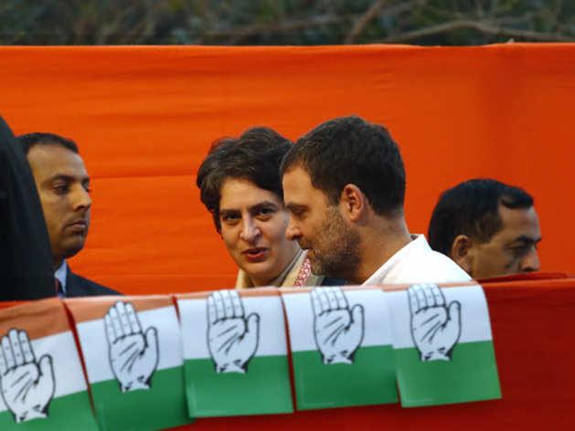 प्रियंका गांधी और राहुल गांधी (फाइल फोटो)