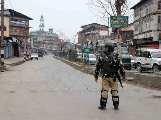 2g internet service suspended in kashmir on death anniversary of maqbool bhat