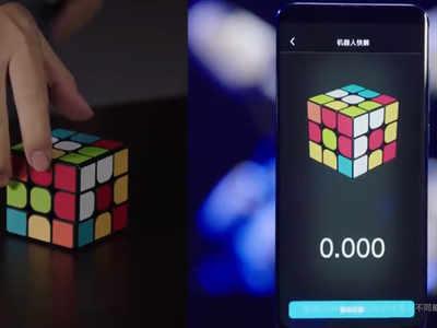Xiaomi Mi 10's Dhansu Performance, defeats World Champion of Rubix Cube
